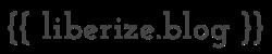 liberize's blog